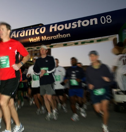 2008 Houston Half Marathon