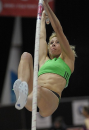 Jenn Suhr wins women's pole vault - 2011 Diamond League Zurich