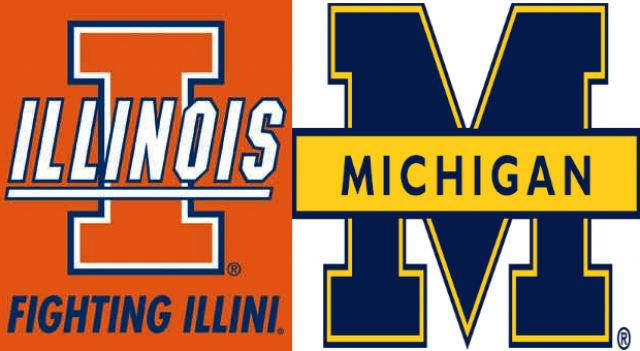 Illinois vs Michigan 1/8/12