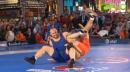 120 lbs match Tervel Dlagnev vs. Eduard Bazrov