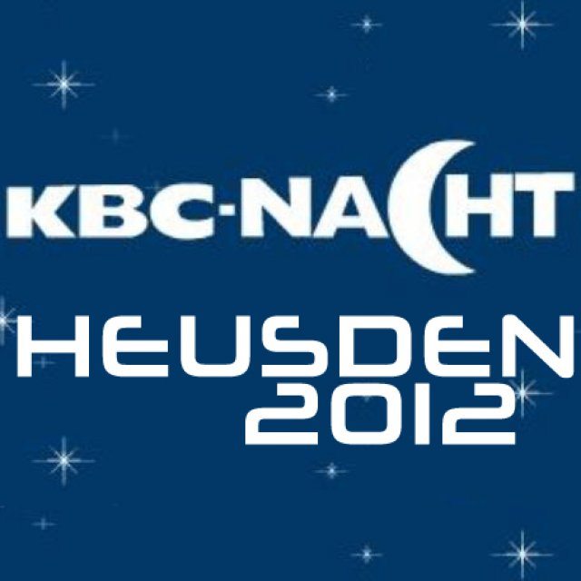 2012 Heusden Meeting - KBC-Nacht