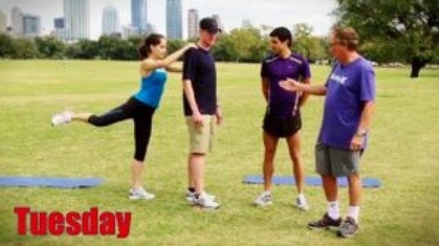 Dynamic Flexibility Training Progression: TUESDAY