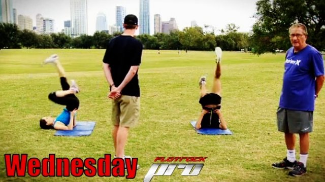 Dynamic Flexibility Training Progression: WEDNESDAY