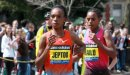 Rita Jeptoo pulls away to win the 2013 Boston Marathon