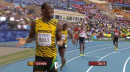 Usain Bolt in 200m Championship Semi-Final