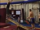 Ridiculous Gymnastics on Teeterboard
