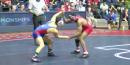 125 lbs finals Nashon Garrett Cornell vs David Terao American