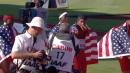 USA wins Men's 4x100