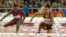 Queen Harrison takes 100m Hurdles in Stockholm