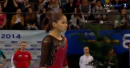 Jessica Lopez - FX AA - 2014 Stuttgart DTB World Cup