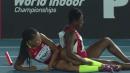 2015 World Relays Women's 4x200 (USA Falls!)