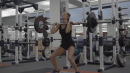 Workout Wednesday: Weightroom and Hurdle Work with Georganne Moline