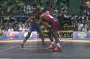 70kg semi, James Green, USA vs Hassan Yazdanicharati, IRI