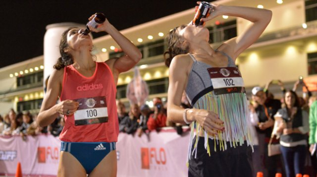 The Women of the Beer Mile