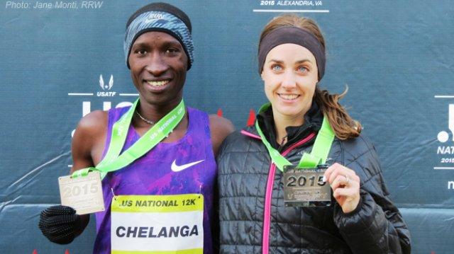 Molly Huddle, Sam Chelanga take .US 12K National Championship Titles