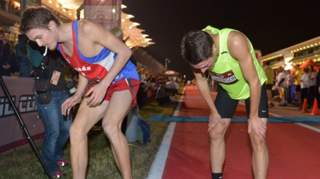 Lewis Kent Shatters World Record at Beer Mile World Championships